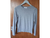 New grey MANGO jumper / shirt size L never worn !!!