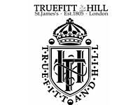Truefitt & Hill -Experienced admin / management / office position available