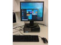 DELL i3 Quad Core Windows 10 PC - SCHOOL OFFICE **FREE DELIVERY**