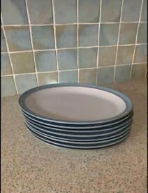 Denby oval platters