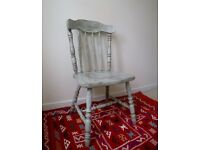 Beautiful Country Farmhouse Chairs With a Vintage, Rustic, Shabby Chic Charm - 2 SOLD 2 Available