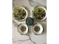 Teenage Mutant Ninja Turtles Plates & Bowls Set