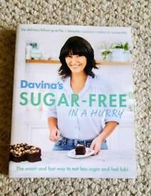 Davina's sugar free in a hurry book
