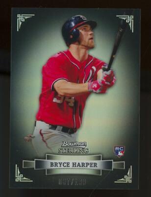 2012 Bowman Sterling Rookie Revelation #1 Bryce Harper 67/199 RC Rookie