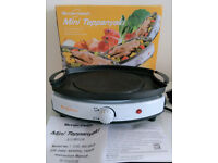 Electric Mini Hot Plate & Teppanyaki Grill