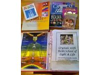 Crystal Therapy Course Information with Books