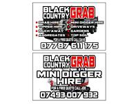 Mini Digger / Grab Hire