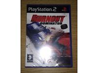 Burnout Dominator PS2 Game BNIB