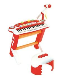 Music SpaceShip Piano with Stool