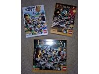 3 Lego games. Lego games in excellant condition with all parts intact.