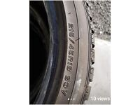 4 x Falken Winter Tyres - excellent condition 215/45R18
