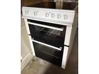 Electric Freestanding Double Oven Cooker