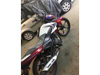 SINNIS SP JS 125-7F BRAND NEW CON 125CC LEARNER LEGAL MOTORBIKE COMMUTER ROAD LEGAL MOT TAX LEXMOTO