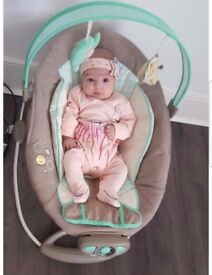 Ingenuity Gentle Automatic Baby Bouncer Whimsical Wonders, Infant Calming Chair
