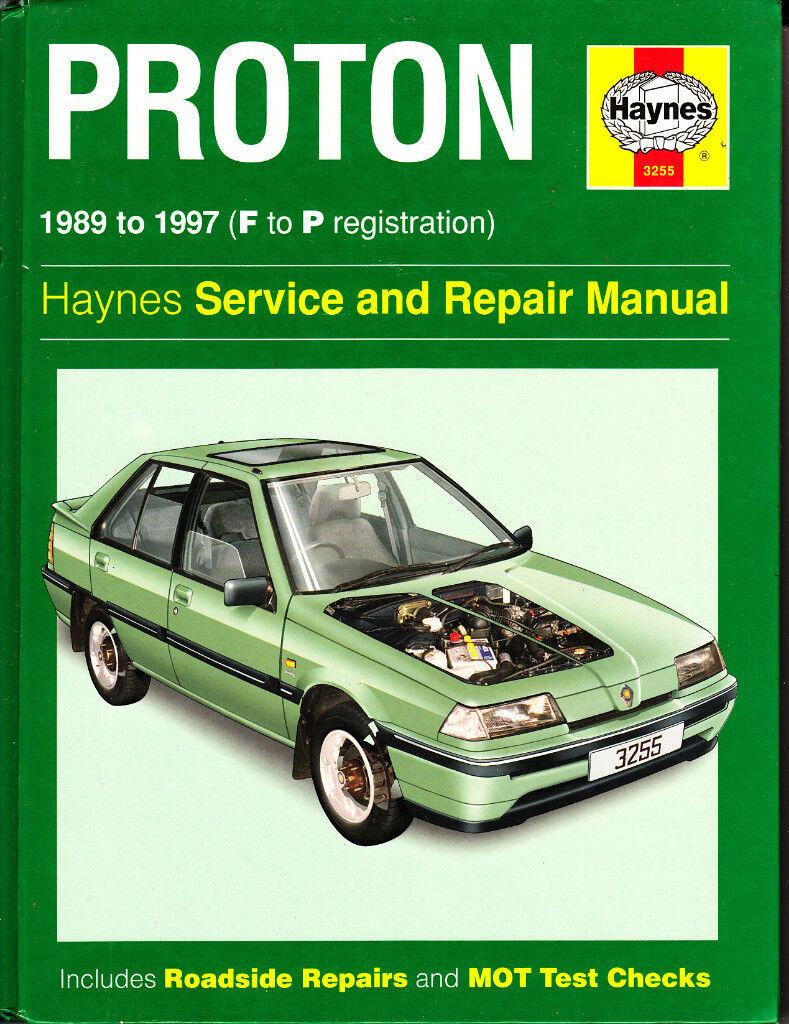 HAYNES PROTON SERVICE REPAIR MANUAL COVERS 1989 - 1997