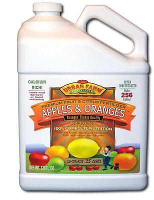 Urban Farm Fertilizers, 1 gallon Apples & Oranges-Fruit & Citrus -