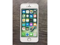 iPhone 5S Silver OPEN TO ALL NETWORKS / 16GB
