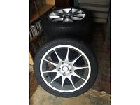 """Smiths Alloy Wheels Chrysler Crossfire, Seat Alhambra 17"""" 5X112 alloys wheel 215 45 17"""