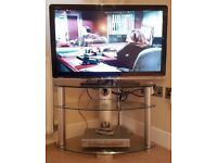 SHARP AQUOS LC-37LE320E LCD LED TV 37 inch HD WIDE SCREEN HD READY SCHNEIDER DVD PLAYER & TV STAND