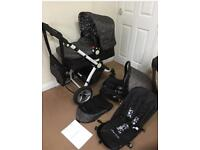 LiberChild EVO Travel System Push chair, car seat, pram set