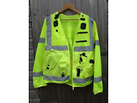 Police High Visability Patrol Jacket - Size Large (made by Arktis)