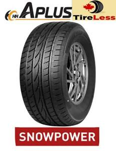 WOW ! PNEU DHIVER NEUF ! 25%--40% DE RABAIS / BRAND NEW WINTER TIRES ! 25% to 40% OFF APLUS BRAND