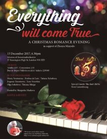 """""""Everything Will Come True"""": A Christmas Romance Evening"""