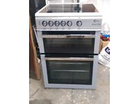 6 MONTHS WARRANTY Silver Flavel 60cm, fan assisted electric cooker FREE DELIVERY