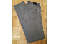STUNNING Brand New - Genuine Edwin Sally Grey Denim Jeans 31 x 32 - Slim Fit Designer Jean