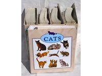 £60 Complete Cat Collection Maxi Cards Full Set Atlas Editions Cost Over £1000 Bargain
