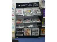 Newspapers Stand for Newsagents