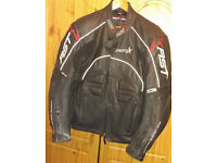 RST Leather men motorcycle jacket size 48