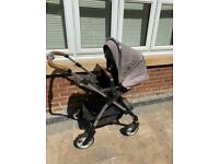 silver cross pushchair good condition 4in1