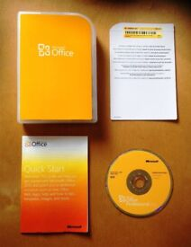 1 x Genuine Microsoft Office Home and Business 2010 32/64bit Retail Version