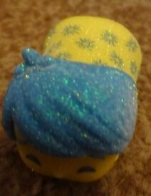 Genuine tsum tsum stackables Disney Inside out Joy Rare Glitter Stack Vinyl ideal gift only £2