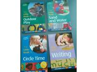 Early years books on play for parents/ teachers