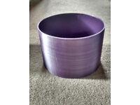 Purple light / lamp shade