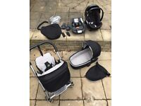 Urbo 2 Mamas & Papas Baby Travel System - pushchair, carrycot, car seat, accessories