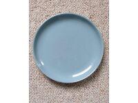 "Denby Homestead Brown side plates 17cm/6.5"" x 4"