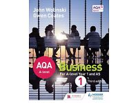 AQA A level Business 1 by Gwen Coates, John Wolinski (Paperback, 2015)
