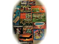GREAT DEAL on collection of Vintage games.