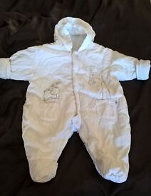 Baby snowsuit - up to 1 month