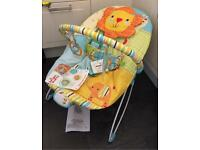 New Bright Starts Jubilant Jungle Baby Bouncer