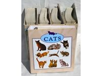 Worth Over £1000 - 'All About Cats' Complete Collection Maxi Cards Full Set - Atlas Edition
