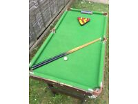 Children's Pool and Snooker Set