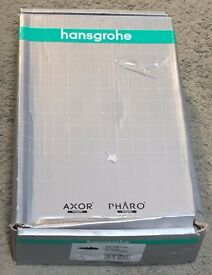 hansgrohe ecomax exposed bath shower thermostatic mixer valve tap 14242000