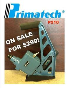Primatech P210 Pneumatic Flooring Nailer (Roller Base Available!)