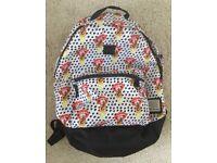 Vans rucksack / backpack. Lips & ice cream design