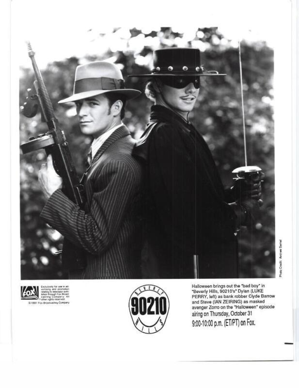 """Luke Perry Ian Zeiring """"Beverly Hills 90210"""" TV Still"""