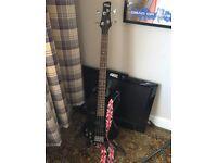 Ibanez Gio 200GSR Left Handed Bass